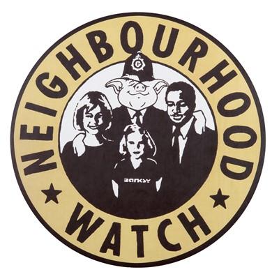 Lot 61 - Banksy (British 1974-), 'Neighbourhood Watch XXL'
