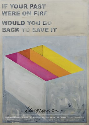 Lot 148 - Harland Miller (British 1964-), 'If Your Past Were On Fire Would You Go Back To Save It', 2016