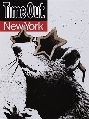 Lot 75 - Banksy (British 1974-), 'Time Out New York', 2010