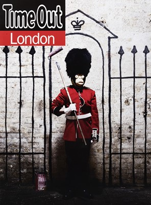 Lot 48 - Banksy (British 1974-), 'Time Out London', 2010