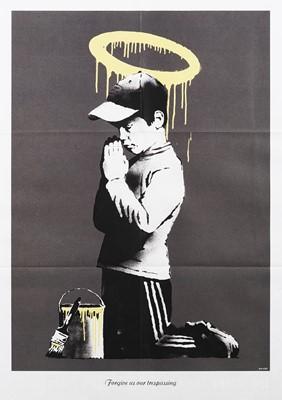 Lot 65 - Banksy (British 1974-), 'Forgive Us Our Trespassing', 2010