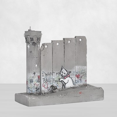 Lot 68 - Banksy (British 1974 -), 'Walled Off Hotel - (I Want My Ball Back)'