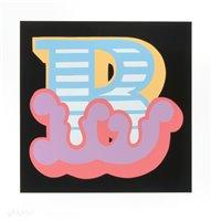Lot 165 - Ben Eine (British b.1970), 'B' (1, 2 & 3), 2015
