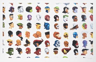 Lot 151 - Hebru Brantley (American 1981-), 'Negro Mythos Series', 2016