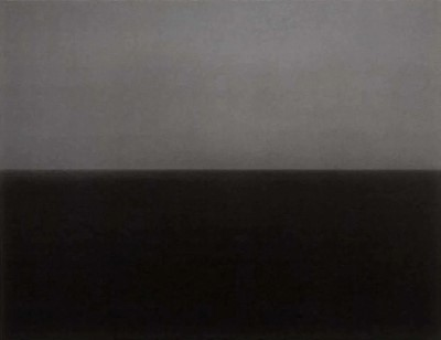 Lot 13 - Hiroshi Sugimoto (Japanese 1948-), Time Exposed #357 Ionian Sea, Santa Cesarea, 1990