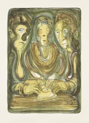 Lot 17 - Nicole Eisenman (American 1965-), Ouija, 2012