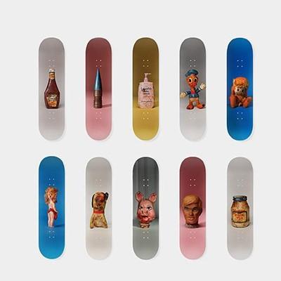 Lot 36 - Paul McCarthy (American 1945-), Paul McCarthy's Set (Set of 10 Skateboards), 2016