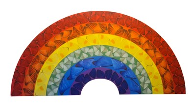 Lot 44 - Damien Hirst (British 1965-), Butterfly Rainbow (Small), 2020