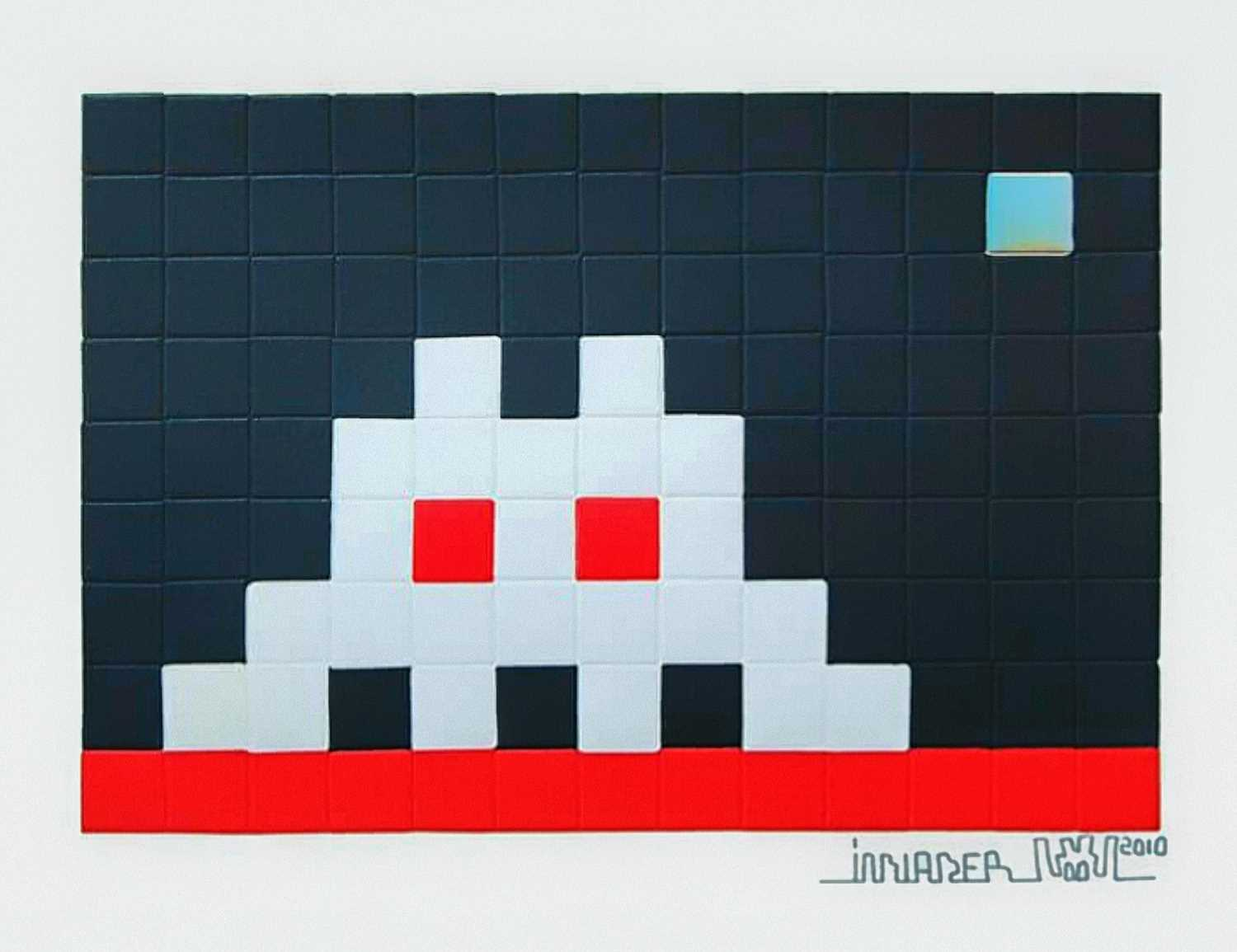 Lot 184 - Invader (French 1969-), 'Home Mars', 2010