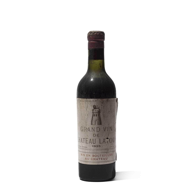 Lot 19 - 1 half-bottle 1925 Ch Latour
