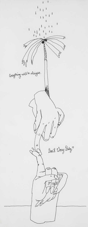 Lot 6 - Christina Quarles (American 1985-), 'Don't Worry Baby', 2020
