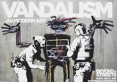 Lot 85 - Banksy (British 1974-), 'Vandalism As Modern Art', 2018