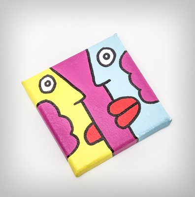 Lot 120 - Thierry Noir (French 1958-), 'Untitled', 2012