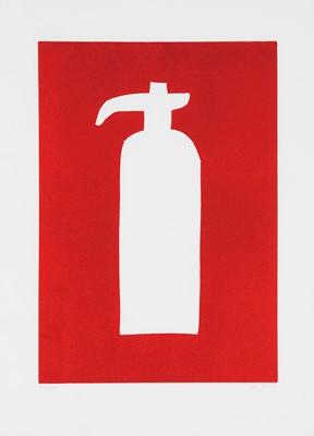 Lot 28 - David Shrigley (British 1968-), 'Fire Hydrant', 2014