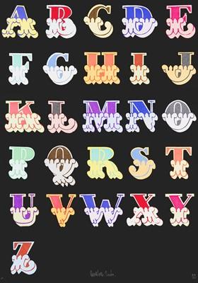 Lot 89 - Ben Eine (British 1970-), 'Circus Alphabet'