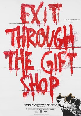 Lot 13 - Banksy (British 1974-), 'Exit Through The Gift Shop (Japanese)', 2011