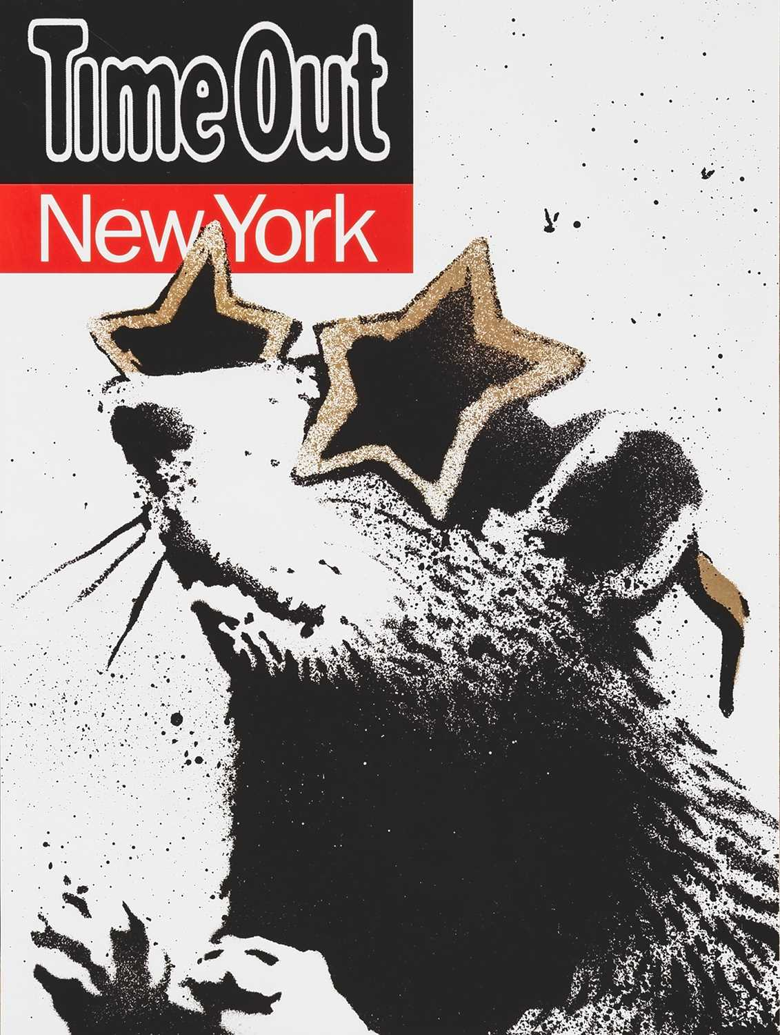 Lot 74 - Banksy (British 1974-), 'Time Out New York', 2010