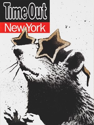 Lot 88 - Banksy (British 1974-), 'Time Out New York', 2010