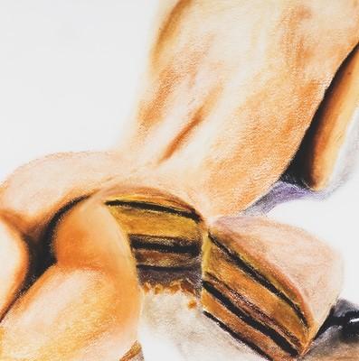 Lot 35 - Gina Beavers (American 1974-), 'Cake', 2015