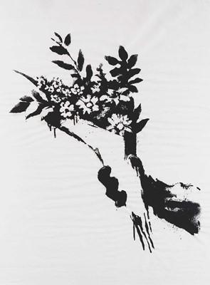 Lot 171 - Banksy (British 1974-), 'GDP Flower Thrower', 2019