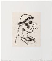 Lot 141 - Tracey Emin (British b.1963), 'Beautiful Girl II', 2014