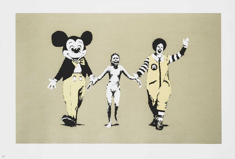 Lot 183 - Banksy (British 1974-), 'Napalm', 2004