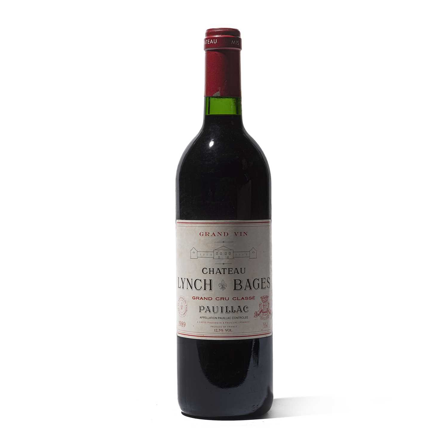 Lot 40 - 6 bottles 1989 Ch Lynch Bages