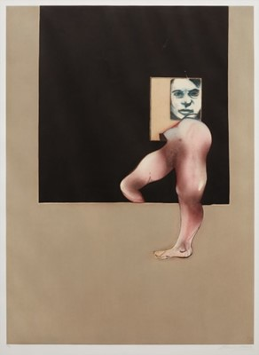 Lot 145 - Francis Bacon (British 1909-1992), 'Triptych 1991 (Right Panel)', 1992