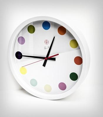 Lot 24 - Damien Hirst (British 1965-), 'Spot Clock Large', 2009