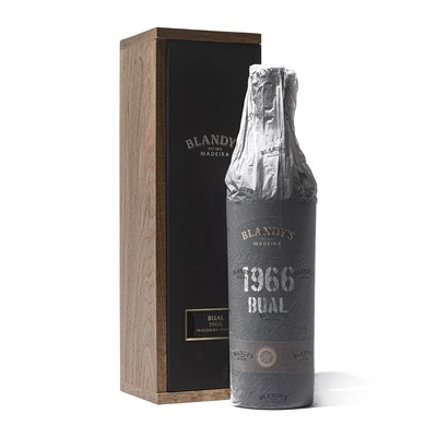 Lot 11 - 1 bottle 1966 Blandy Bual
