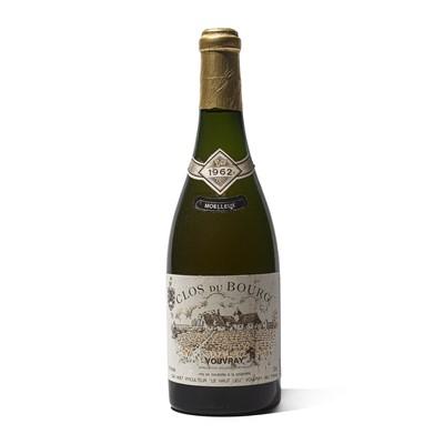 Lot 64 - 1 bottle 1962 Clos du Bourg Moelleux