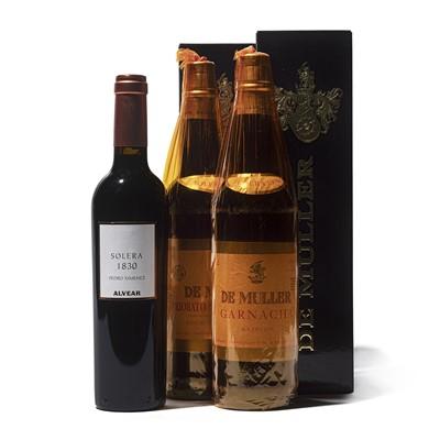 Lot 83 - 3 bottles Mixed Solera Tarragona and Montilla