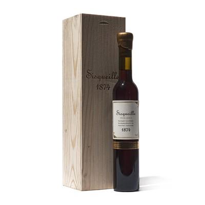 Lot 65 - 1 half-bottle 1874 Ch Sisqueille Rivesaltes