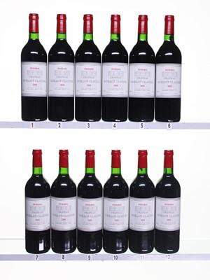 Lot 29 - 12 bottles 2000 Ch Guillot Clauzel