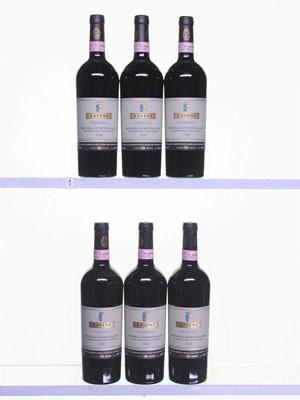 Lot 76 - 6 bottles 1999 Brunello di Montalcino Ugolaia