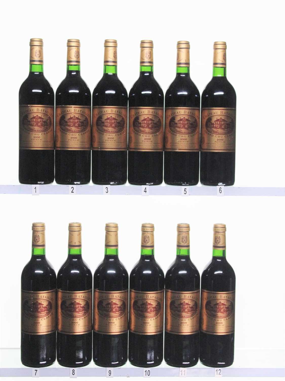 Lot 27 - 12 bottles 2000 Ch Batailley