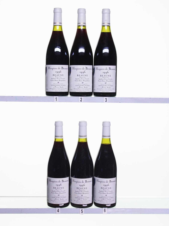 Lot 52 - 12 bottles 1996 Hospices de Beaune Beaune Cuvee Dames Hospitalieres