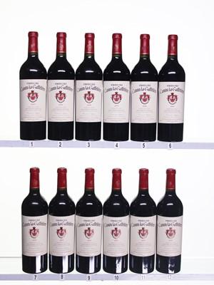 Lot 28 - 12 bottles 2000 Ch Canon La Gaffeliere