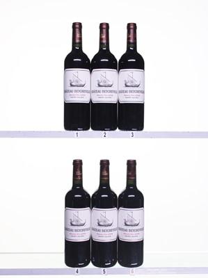 Lot 41 - 6 bottles 2008 Ch Beychevelle