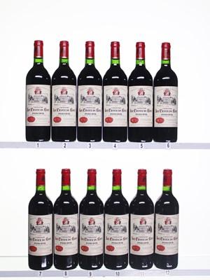 Lot 25 - 12 bottles 1996 La Croix de Gay