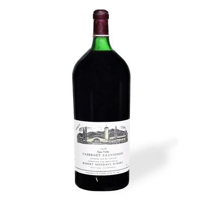 Lot 88 - 1 6 litre bottle 1978 Robert Mondavi Cabernet Sauvignon Reserve