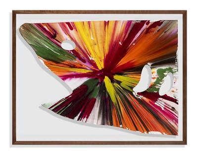 Lot 132 - Damien Hirst (British 1965-), 'Shark Spin Painting', 2009