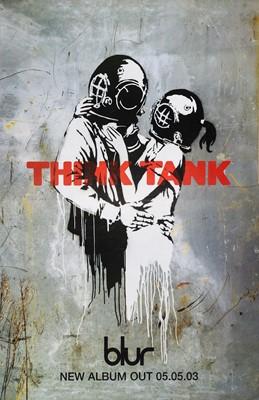 Lot 82 - Banksy (British 1974-), 'Think Tank', 2003