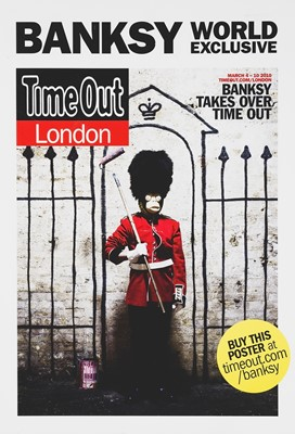 Lot 72 - Banksy (British 1974-), 'Banksy World Exclusive', 2010