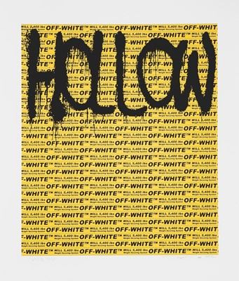 Lot 50 - Takashi Murakami (Japanese 1962-), 'Hollow Man', 2018