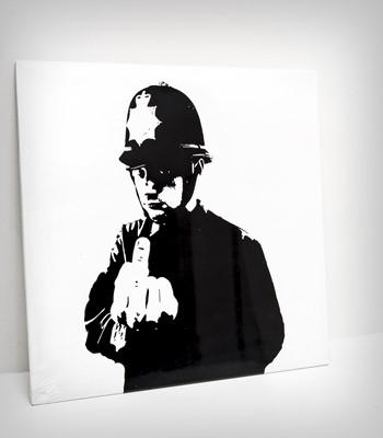 Lot 74 - Banksy (British 1974-), 'Boys In Blue', 2015