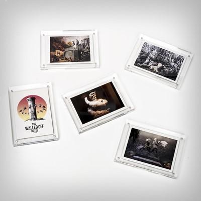 Lot 70 - Banksy (British 1974-), 'Walled Off Hotel Postcard Set (5 works)', 2019