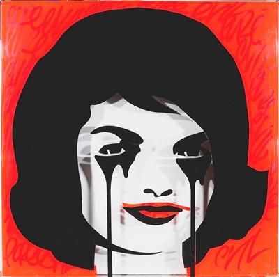 Lot 106 - Pure Evil (British 1968-), 'JFK's Nightmare Plastic', 2015
