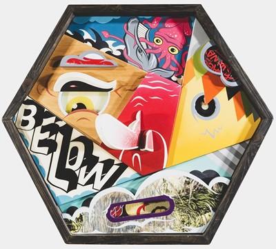 Lot 3 - Alex Yanes (American 1977-), 'Below', 2014