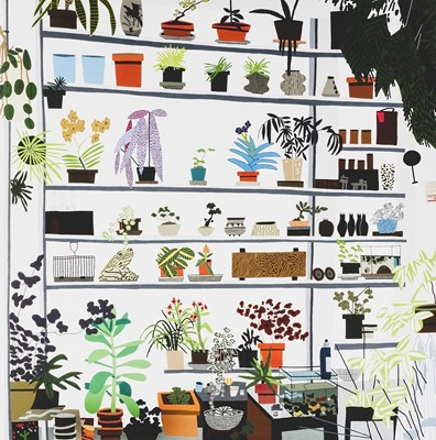 Lot 78 - Jonas Wood (American 1977-), 'Large Shelf Still Life Poster', 2017